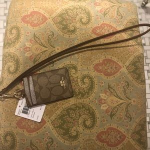 Coach Accessories - Authentic Coach lanyard